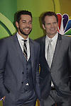 NBC Upfront - Zachary Levi & Jack Coleman - Heroes Reborn at Radio City, New York City, New York on May 11, 2015 (Photos by Sue Coflin/Max Photos)