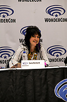 Sara Richard at Wondercon in Anaheim Ca. March 31, 2019