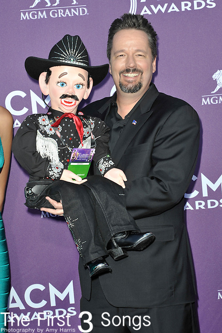 XXX attends the 47th Annual Academy of Country Music Awards in Las Vegas, Nevada on April 1, 2012.