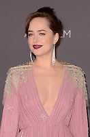 LOS ANGELES, CA - NOVEMBER 04: Dakota Johnson at the 2017 LACMA Art + Film Gala Honoring Mark Bradford And George Lucas at LACMA on November 4, 2017 in Los Angeles, California. Credit: David Edwards/MediaPunch /NortePhoto.com
