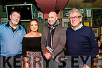 """Book Club Event: Pictured at the book clubs of Kerry Event at John B Keane's Bar, Listowel on Friday night  last were Damian Stack, Anne Marie Ryan, Donal Ryan, author of """"From & Low & Quiet Sea"""" and Billy Keane."""