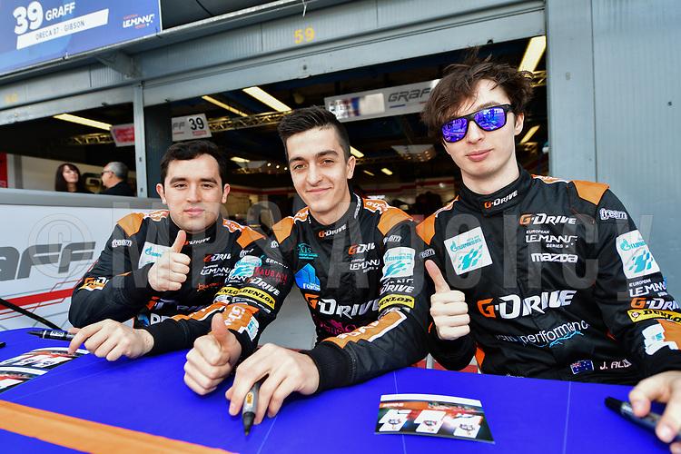 #40 G DRIVE RACING (RUS) ORECA 07 GIBSON LMP2 JAMES ALLEN (AUS) ENZO GUIBBERT (FRA) JOSE GUTIERREZ (MEX)