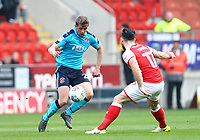 Jack Sowerby of Fleetwood Town during the Sky Bet League 1 match between Rotherham United and Fleetwood Town at the New York Stadium, Rotherham, England on 7 April 2018. Photo by Leila Coker.