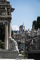 France, Provence-Alpes-Côte d'Azur, Nice: Jewish cemetery | Frankreich, Provence-Alpes-Côte d'Azur, Nizza: der juedische Friedhof auf dem Schlosshuegel