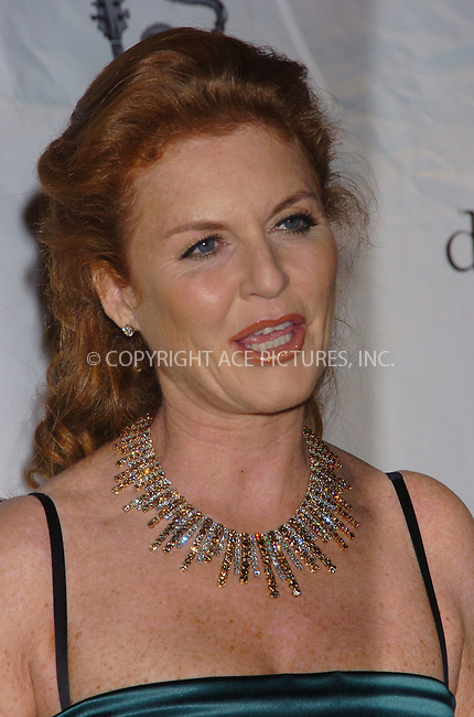WWW.ACEPIXS.COM . . . . .  ....November 1 2005, New York City......Sarah Ferguson arriving at a performance by Beyonce Knowles at Cipriani Wall Street.....Please byline: AJ Sokalner - ACE PICTURES..... *** ***..Ace Pictures, Inc:  ..Philip Vaughan (212) 243-8787 or (646) 769 0430..e-mail: info@acepixs.com..web: http://www.acepixs.com