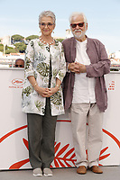 "CANNES, FRANCE - MAY 16: Katharina Kubrick, Jan Harlan attend the photocall for ""The Shining"" during the 72nd annual Cannes Film Festival on May 16, 2019 in Cannes, France. <br /> CAP/GOL<br /> ©GOL/Capital Pictures"