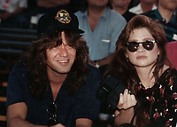 1992 <br /> Eddie Van Halen,Valerie Bertinelli<br /> Photo By John Barrett-PHOTOlink.net/MediaPunch