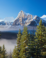 Rocky mountain beauty in Banff National Park