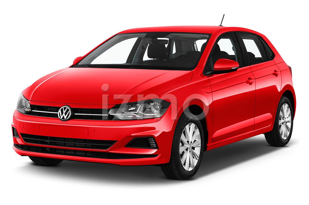 2019 Volkswagen Beetle S 5 Door Hatchback angular front stock photos of front three quarter view