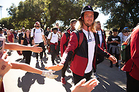 Stanford, Ca - Saturday, September 8, 2018: Stanford vs USC at Stanford Stadium.