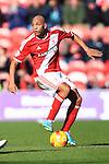 Emilio Nsue of Middlesbrough - Middlesbrough vs. Leeds United - Skybet Championship - Riverside Stadium - Middlesbrough - 21/02/2015 Pic Philip Oldham/Sportimage