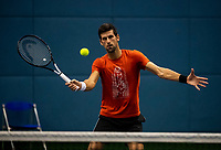 NOVAK DJOKOVIC (SRB)<br /> <br /> TENNIS - ROLEX SHANGHAI MASTERS - QI ZHONG TENNIS CENTER - MINHANG DISTRICT - SHANGHAI - CHINA - ATP 1000 - 2018 <br /> <br /> <br /> <br /> &copy; TENNIS PHOTO NETWORK
