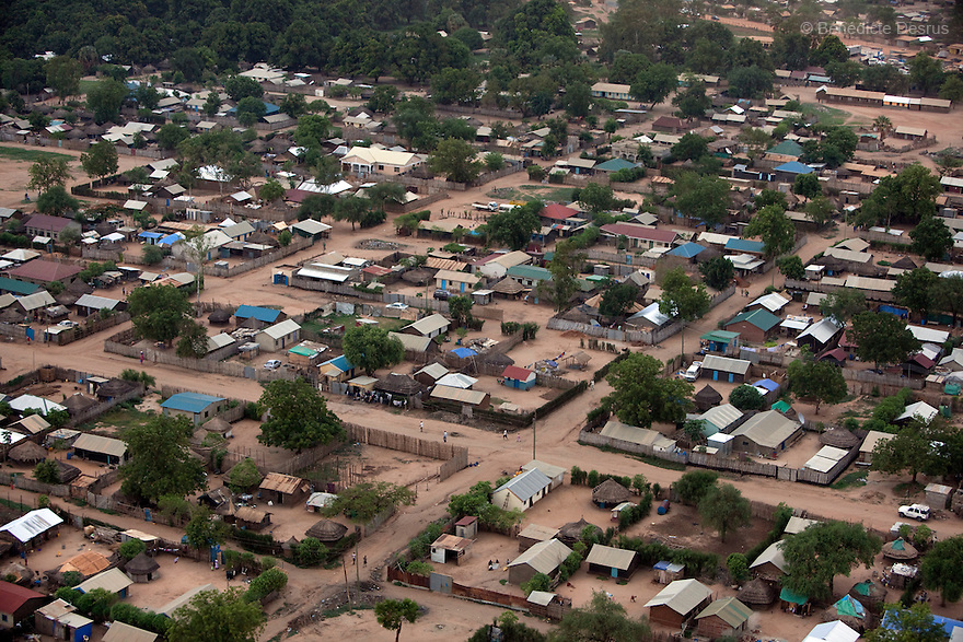 28 may 2010 - Western Equatoria, South Sudan - Aerial view of Juba, South Sudan. Photo credit: Benedicte Desrus