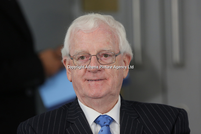 Leader for Neath Port Talbot Council Alun Thomas during the Swansea Bay City Region deal, at the Liberty Stadium, Swansea, Wales, UK. Monday 20 March 2017.