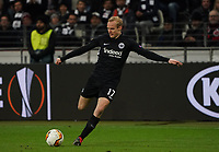 Sebastian Rode (Eintracht Frankfurt) - 20.02.2020: Eintracht Frankfurt vs. RB Salzburg, UEFA Europa League, Hinspiel Round of 32, Commerzbank Arena DISCLAIMER: DFL regulations prohibit any use of photographs as image sequences and/or quasi-video.