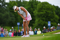Lexi Thompson (USA) watches her putt on 1 during the round 3 of the KPMG Women's PGA Championship, Hazeltine National, Chaska, Minnesota, USA. 6/22/2019.<br /> Picture: Golffile | Ken Murray<br /> <br /> <br /> All photo usage must carry mandatory copyright credit (© Golffile | Ken Murray)
