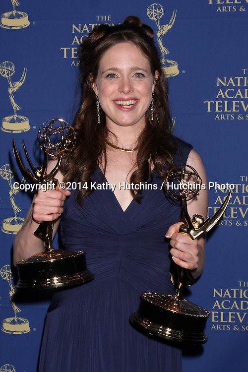 LOS ANGELES - JUN 20:  Jessica Honor Carleton at the 2014 Creative Daytime Emmy Awards at the The Westin Bonaventure on June 20, 2014 in Los Angeles, CA
