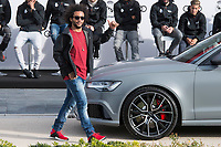 Marcelo of Real Madrid CF poses for a photograph after being presented with a new Audi car as part of an ongoing sponsorship deal with Real Madrid at their Ciudad Deportivo training grounds in Madrid, Spain. November 23, 2017. (ALTERPHOTOS/Borja B.Hojas) /NortePhoto.com NORTEPHOTOMEXICO