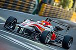 Martin Cao Hongwei races the Formula 3 Macau Grand Prix during the 61st Macau Grand Prix on November 15, 2014 at Macau street circuit in Macau, China. Photo by Aitor Alcalde / Power Sport Images