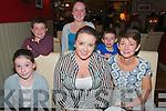 18th Birthday : Eimear Healy, Listowel celebrating her 18th birthday with her family in Eabha Jones's Restaurant, Listowel on Saturday night last. Front : Hannah, Eimear & Joan Healy. Back : Eddie, Mary Kate & Philip Healy.