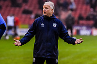 Cardiff City's assistant manager Kevin Blackwell during the Sky Bet Championship match between Sheff United and Cardiff City at Bramall Lane, Sheffield, England on 2 April 2018. Photo by Stephen Buckley / PRiME Media Images.
