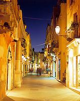 Italy, Sicily, Taormina: Corso Umberto I.