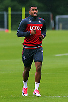 Pictured: Luciano Narsingh in action. Tuesday 11 July 2017<br /> Re: Swansea City FC training at Fairwood training ground, UK