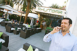 Oliver Guiua, general manger of Rhumbar in the Mirage in Las Vegas.