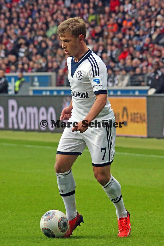 Max Meyer (Schalke) - Eintracht Frankfurt vs. FC Schalke 04, Commerzbank Arena