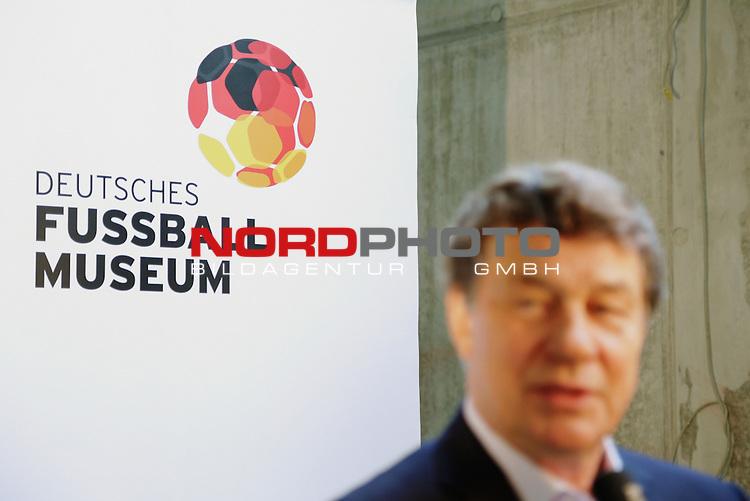 04.05.2015, Deutsches Fussball Museum, Dortmund, GER, im Bild     Otto Rehagel<br />   Foto &copy; nph / Rauch
