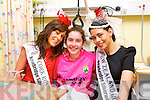 The Roses visit to the Bon Secours Hospital on Friday. Jane O'Sullivan from Kilgarvan with Cork Rose Edel Buckley and New Zealand Rose Judeena Carpenter.