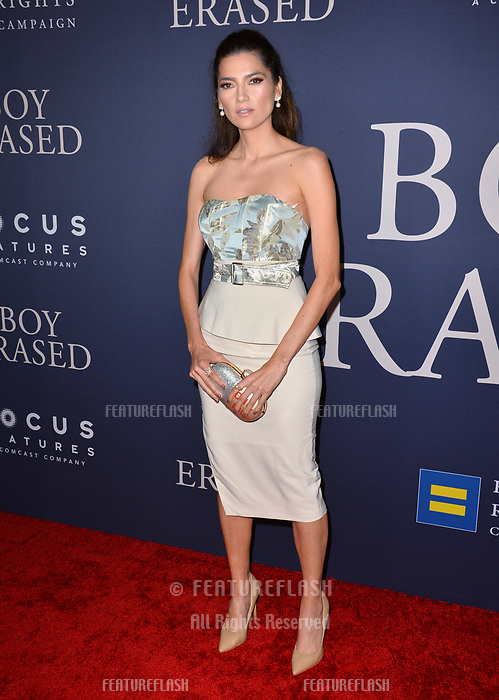 LOS ANGELES, CA. October 29, 2018: Blanca Blanco at the Los Angeles premiere for &quot;Boy Erased&quot; at the Directors Guild of America.<br /> Picture: Paul Smith/Featureflash