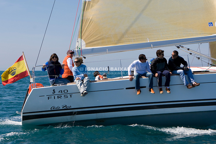 ESP 1669 AIDA ROSA Jesús Nazareno Garcia Valdes FIRST 40 CN Canet d'en Berenguer <br /> Salida de la 22 Ruta de la Sal 2009 Versión Este, Denia, Alicante, España