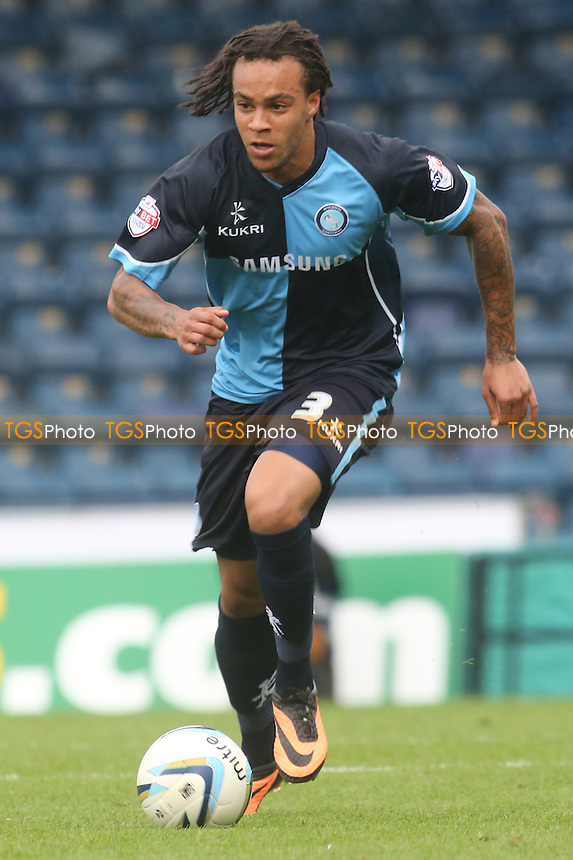 Charles Dunne of Wycombe Wanderers - Wycombe Wanderers vs Mansfield Town - Sky Bet League Two Football at Adams Park, High Wycombe - 17/08/13 - MANDATORY CREDIT: Paul Dennis/TGSPHOTO - Self billing applies where appropriate - 0845 094 6026 - contact@tgsphoto.co.uk - NO UNPAID USE