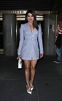 NEW YORK, NY May 02: Priyanka Chopra at Late Night with Seth Meyers in New York City on May 2, 2018. Credit: RW/MediaPunch