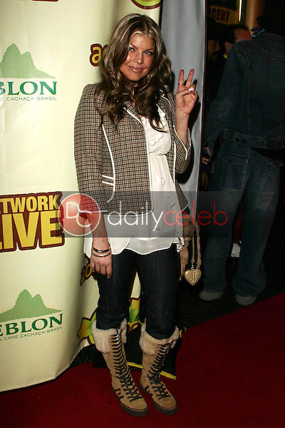 Fergie<br />at The Peapod Concert Benefit presented by The Peapod Foundation and Network Live. Henry Fonda Music Box Theater, Los Angeles, CA 02-06-06<br />Dave Edwards/DailyCeleb.com 818-249-4998