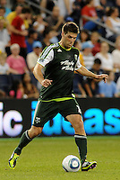 David Horst (12)  defender Portland Timbers in action... Sporting Kansas City defeated Portland Timbers 3-1 at LIVESTRONG Sporting Park, Kansas City, Kansas.