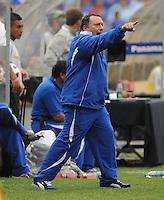 El Salvador Head Coach Ruben Israel.   Team Photo.  Panama defeated El Salvador in penalty kicks 5-3 in the quaterfinals for the 2011 CONCACAF Gold Cup , at RFK Stadium, Sunday June 19, 2011.