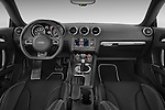 Straight dashboard view of a 2008 - 2010 Audi TTS 3 Door Coupe 2WD