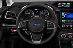 Car pictures of steering wheel view of a 2018 Subaru Impreza 2.0i-Limited-CVT-PZEV 4 Door Sedan Steering Wheel