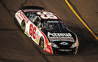 Apr 11, 2008; Avondale, AZ, USA; NASCAR Nationwide Series driver Steve Wallace during the Bashas Supermarkets 200 at the Phoenix International Raceway. Mandatory Credit: Mark J. Rebilas-