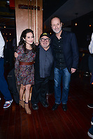 NEW YORK CITY - MARCH 15: Lucy DeVito, Danny DeVito and John Landgraf CEO FX Networks attend FX Networks 2018 Annual All-Star Bowling Party at Lucky Strike Manhattan on March 15, 2018 in New York City. (Photo by Anthony Behar/FX/PictureGroup)