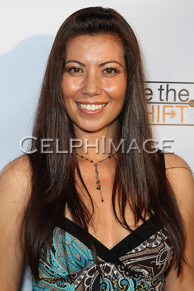 MICHELLE LAURENT. Red Carpet arrivals to the launch event of Be The Shift at Industry Night Club. West Hollywood, CA, USA. 6/14/2010..