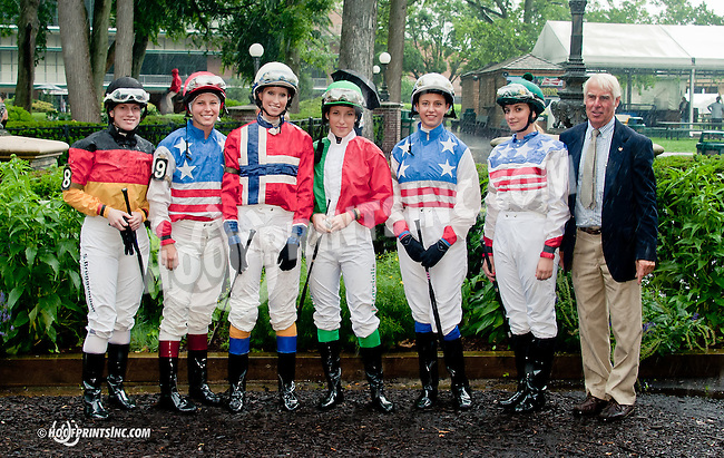 2nd race group of The International Ladies Fegentri Race participants at Delaware Park on 6/10/13