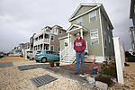Bill Mullen stands in front of his new home on Coolidge Avenue in Ortley Beach, New Jersey where Super Storm Sandy wiped out most of the block including his home, in 2012.  New homes have been constructed throughout Ortley Beach and the Jersey Shore. (Bill Denver For New York Daily News)