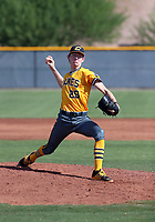 Justin Jarvis of the Canes Baseball plays in the 2017 Perfect Game 17U World Series on July 20-24, 2017 at the Chicago Cubs complex in Mesa, Arizona (Bill Mitchell)