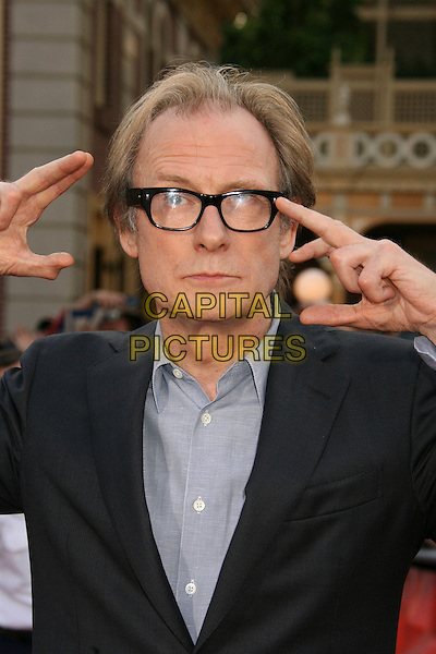 """BILL NIGHY.""""Pirates Of The Caribbean: At World's End"""" World Premiere held at Disneyland, Anaheim, California, USA,.May 19th, 007.3 half length hands glasses .CAP/ADM/RE.©Russ Elliot/AdMedia/Capital Pictures"""