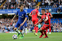 Cesc Fabregas of Chelsea in action during Chelsea vs Huddersfield Town, Premier League Football at Stamford Bridge on 9th May 2018