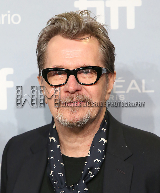 Gary Oldman attends the 'Darkest Hour' photo call during 2017 Toronto International Film Festival at TIFF Bell Lightbox on September 11, 2017 in Toronto, Canada.