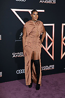 """LOS ANGELES - NOV 11:  EJ Johnson at the """"Charlie's Angels"""" Premiere at the Village Theater on November 11, 2019 in Westwood, CA"""